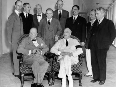 Allies of the Pacific War Council Met at the White House on June 25, 1942