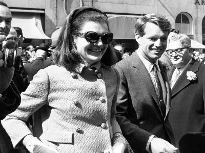 Jacqueline Kennedy in St Patrick's Day Parade