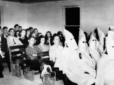 75 Ku Klux Klansman Joined Congregation of Massay Line Church of God, Near Birmingham, Alabama