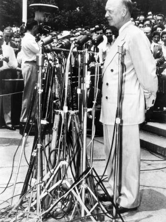 Dwight Eisenhower as President of Columbia University