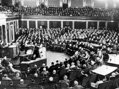 President Eisenhower Delivers His First State of the Union Message