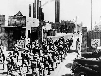 Indian Riflemen Take over an Iranian Refinery in Aug-Sept 1941