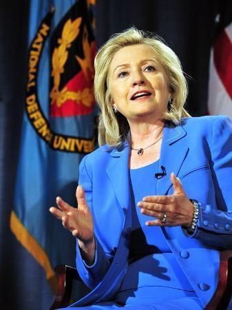 Hillary Clinton, US Secretary of State, Speaking at George Washington University, August 16, 2011