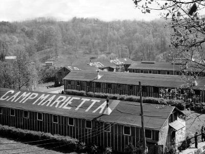 Camp Marietta, Were the Quarters of Ohio's Conscientious Objectors