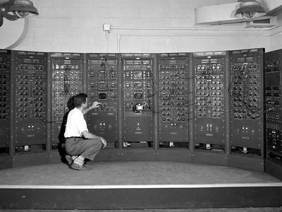 1949 Computer Used by Rocket Scientists at Lewis Flight Propulsion Laboratory, Cleveland, Ohio