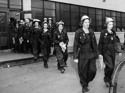 Women Workers at the Todd Erie Basin Shipyard Repair Plants in Brooklyn