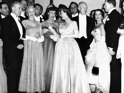Political and Entertainment Celebrities at the 1953 Eisenhower Inaugural Celebrations