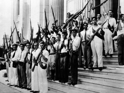 Armed Students at the University of Havana on Sept 15, 1933