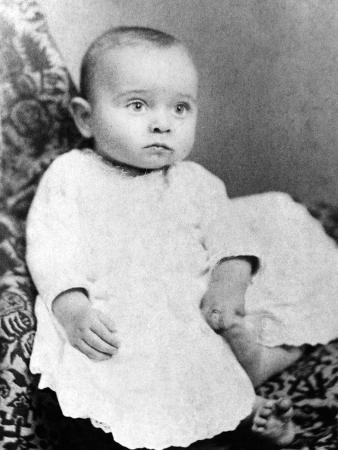 Harry Truman Baby Picture
