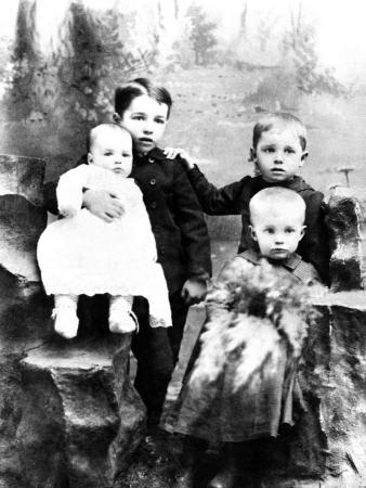Four Eisenhower Brothers in 1893