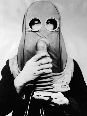 New Gas Respirators for Citizens Unable to Wear Ordinary Designs