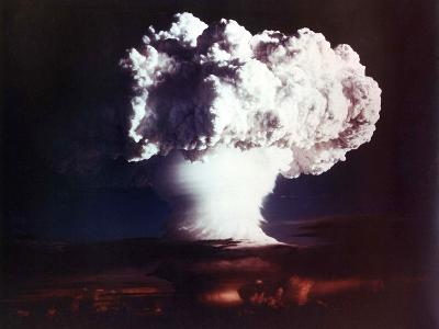 The Mike Shot, Was the First Successful Full-Scale Test Hydrogen Bomb, on Oct 31, 1952
