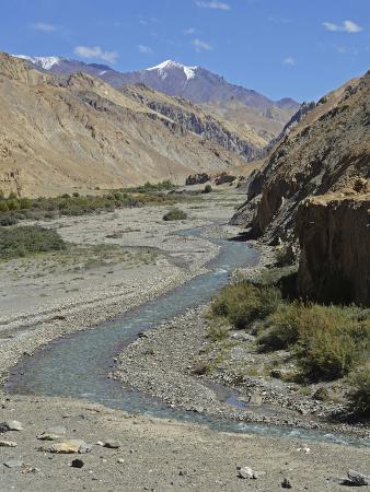 Landscape, Markha Valley, Ladakh, India