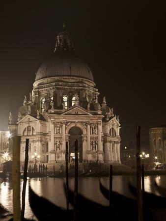 Night View of San Giorgia Maggiore, Venice, Italy