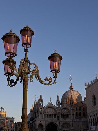 Ornate Lamp, Venice, Italy