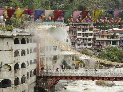 Sri Guru Nanak Ji Gurdwara Shrine, Manikaran, Himachal Pradesh, India