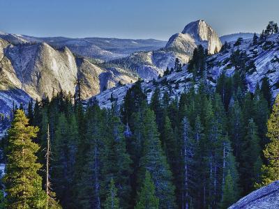 Half Dome in Evening Glow, Yosemite National Park, California, USA