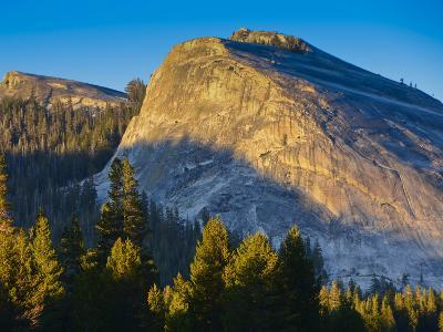 Lembert Dome in Evening Glow, Yosemite National Park, California, USA
