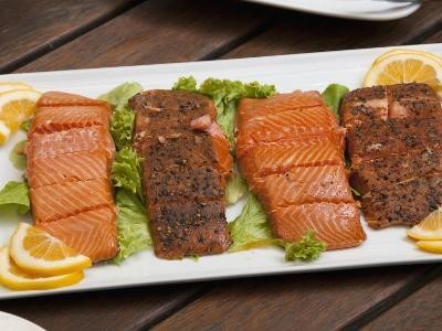 Wine and Salmon Tastings, Nelson, South Island, New Zealand
