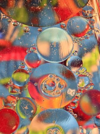 Abstract Bubbles and Colors, Savannah, Georgia, USA