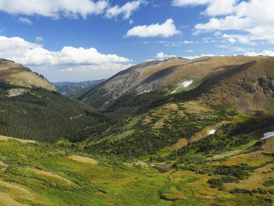 View from the Alpine Visitor Center, Rocky Mountain National Park, Colorado, USA
