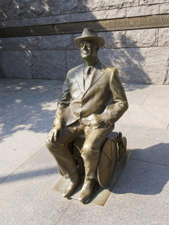 Franklin Delano Roosevelt Memorial, Washington DC, USA, District of Columbia