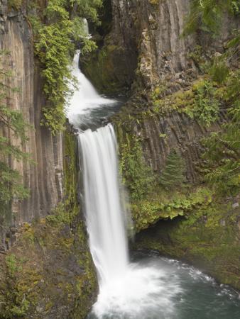 Toketee Falls in Douglas County, Oregon, USA