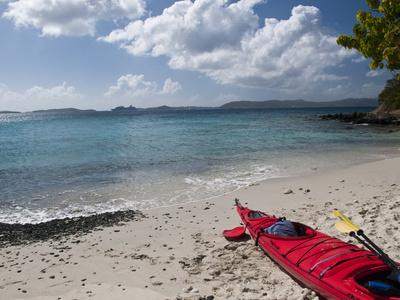 Kayak Tour on Honeymoon Bay, St John, United States Virgin Islands, USA, US Virgin Islands