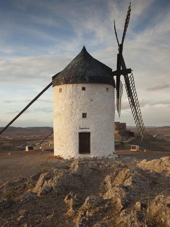 La Mancha Windmills, Consuegra, Castile-La Mancha Region, Spain