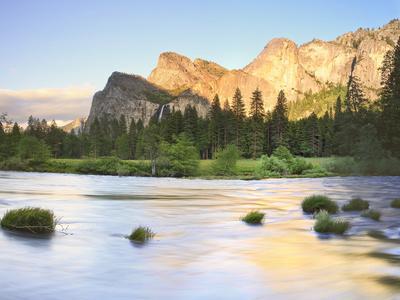 Bridal Falls, Yosemite, California, USA