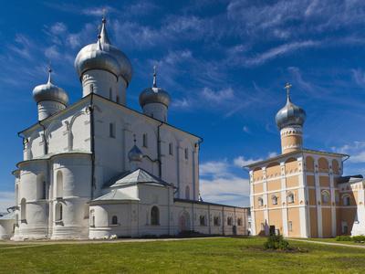 Saint Varlaam Convent, Novgorod Oblast, Veliky Novgorod, Russia