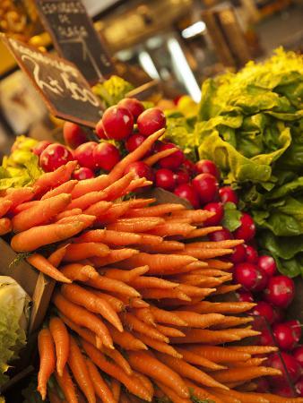 Carrots, Central Market, Malaga, Spain