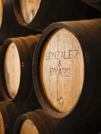 Sherry Casks, Bodegas Gonzalez Byass, Jerez De La Frontera, Spain