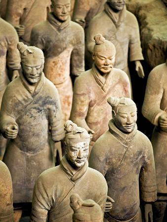Qin Shi Huang Di Mausoleum with Terracotta Warriors, Xi'An, China