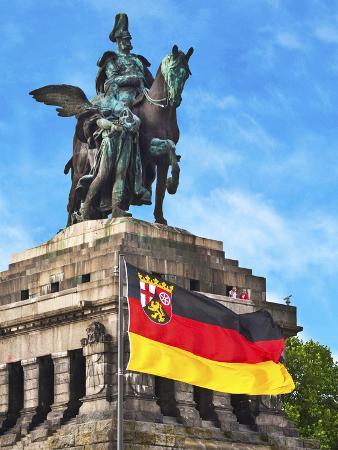 Emperor William I Statue, Koblenz, Germany