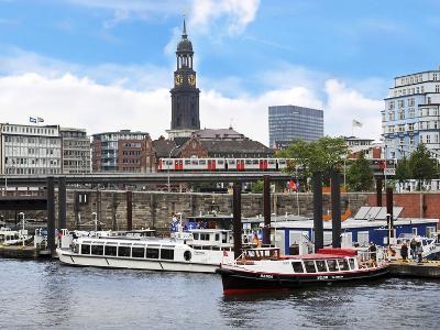 Tour Boats, Hamburg, Germany