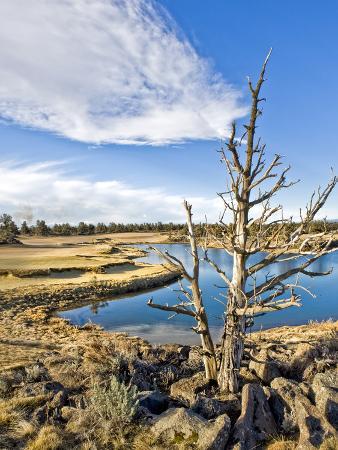 Golf Course View, Bend, Oregon, USA