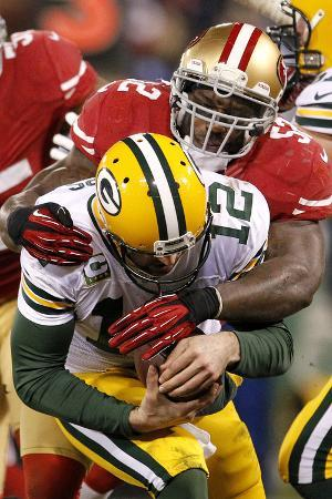 NFL Playoffs 2013: Packers vs 49ers - Patrick Willis