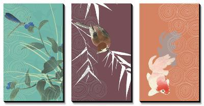 Eastern Animals Triptych