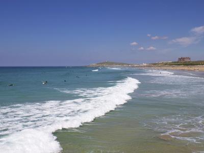 Fistral Beach, Newquay, Cornwall, England, United Kingdom, Europe