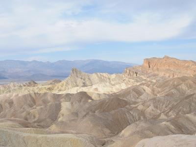 Zabriskie Point, Death Valley, California, United States of America, North America