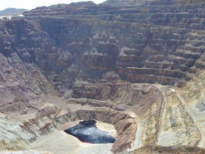 The Lavender Open Pit Copper Mine in Bisbee, Arizona, United States of America, North America