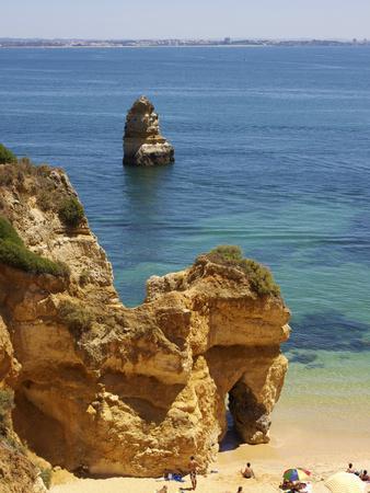 Praia Da Camilo, Lagos, Algarve, Portugal, Europe