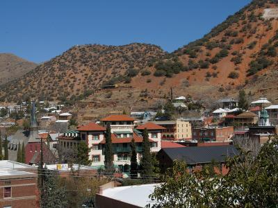 Bisbee, an Old Copper Mining Town, Arizona, United States of America, North America