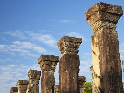 Audience Chamber, Island Gardens, Polonnaruwa, UNESCO World Heritage Site, Sri Lanka