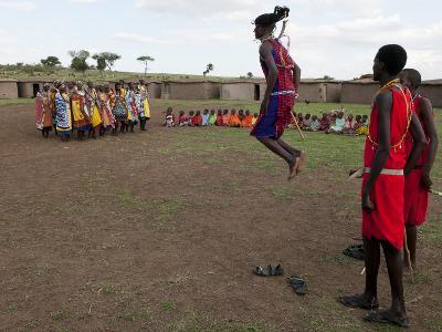 Masai, Masai Mara, Kenya, East Africa, Africa