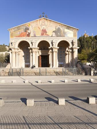 The Church of All Nations, Mount of Olives, Jerusalem, Israel, Middle East