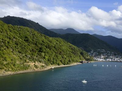 Queen Charlotte Sound, Picton, South Island, New Zealand, Pacific