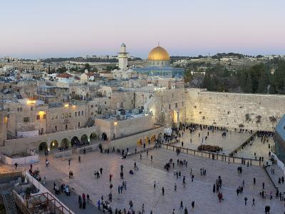 Jewish Quarter of Western Wall Plaza, Old City, UNESCO World Heritage Site, Jerusalem, Israel