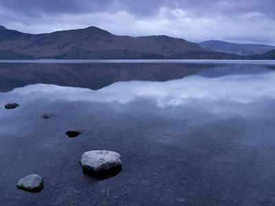 Dawn from South-East Shore of Derwentwater, Keswick, Lake District National Park, Cumbria, England